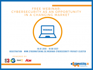 Free Live Cybersecurity Webinar (July 10th, 10.00 h. CEST)